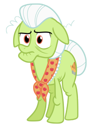 Size: 4444x6342 | Tagged: safe, artist:estories, granny smith, pony, absurd resolution, simple background, solo, transparent background, vector