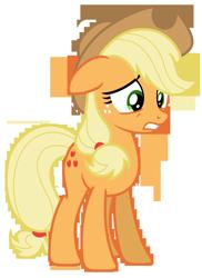 Size: 5149x7071 | Tagged: safe, artist:estories, applejack, pony, absurd resolution, applejack's hat, cowboy hat, hat, simple background, solo, transparent background, vector
