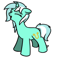 Size: 878x910 | Tagged: safe, artist:neuro, lyra heartstrings, pony, unicorn, cute, eyes closed, female, floppy ears, lyrabetes, mare, open mouth, simple background, solo, transparent background
