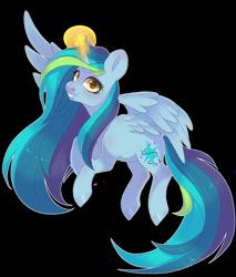 Size: 2391x2803   Tagged: safe, artist:shady-bush, oc, oc:everfree, alicorn, pony, female, magic, mare, simple background, solo, transparent background