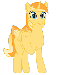 Size: 1500x2000 | Tagged: safe, artist:exhumed legume, derpibooru exclusive, oc, oc only, oc:favourite, alicorn, pony, 2020 community collab, derpibooru, derpibooru community collaboration, alicorn oc, bow, colored wings, derpibooru ponified, female, gradient mane, gradient tail, gradient wings, looking at you, mare, meta, ponified, simple background, solo, tail bow, transparent background, waving, wings
