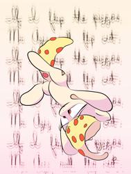 Size: 2040x2704 | Tagged: safe, artist:vultraz, oc, oc:mozzarella orgy, food pony, original species, pizza pony, pony, eyestrain warning, falling, female, food, pizza, ponified, solo, text