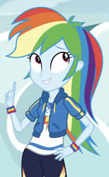 Size: 509x828   Tagged: safe, screencap, rainbow dash, equestria girls, rollercoaster of friendship, spoiler:eqg series, cropped, solo