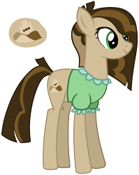 Size: 1178x1477 | Tagged: safe, artist:eonionic, oc, oc only, oc:sand castle, earth pony, pony, earth pony oc, female, magical gay spawn, mare, offspring, parent:cheese sandwich, parent:mud briar, parents:mudsandwich, simple background, solo, transparent background