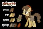 Size: 1024x692 | Tagged: safe, artist:drakizora, oc, oc only, oc:desiree, earth pony, pony, solo