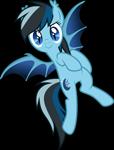 Size: 2138x2805 | Tagged: safe, artist:drakizora, oc, oc only, oc:midnight star, bat pony, pony