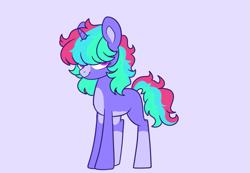 Size: 791x547   Tagged: safe, artist:unicorn-mutual, oc, pony, unicorn, base used, female, magical lesbian spawn, mare, offspring, parent:rainbow dash, parent:twilight sparkle, parents:twidash, simple background, solo