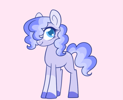 Size: 671x544 | Tagged: safe, artist:unicorn-mutual, oc, earth pony, pony, colored hooves, female, freckles, magical lesbian spawn, mare, offspring, parent:pinkie pie, parent:trixie, parents:trixiepie, simple background, solo