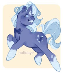 Size: 1280x1468 | Tagged: safe, artist:holidaye, oc, oc:wanda flicker, pony, unicorn, female, magical lesbian spawn, mare, offspring, parent:starlight glimmer, parent:trixie, parents:startrix, solo