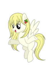 Size: 906x1268 | Tagged: safe, anonymous artist, oc, oc only, oc:vanilla fragrant, pegasus, pony, female, mare, simple background, solo, transparent background