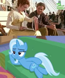 Size: 502x597   Tagged: safe, trixie, road to friendship, meme, reference, titanic