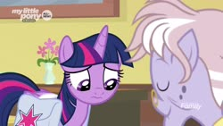 Size: 1920x1080   Tagged: safe, screencap, dusty pages, twilight sparkle, alicorn, pony, the point of no return, spoiler:s09e05, 3:, bag, saddle bag, twilight sparkle (alicorn)