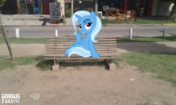 Size: 2560x1536 | Tagged: safe, artist:gradiusfanatic, trixie, pony, irl, photo, ponies in real life