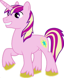 Size: 1920x2350 | Tagged: safe, edit, vector edit, princess cadance, shining armor, pony, unicorn, ponyar fusion, fusion, male, palette swap, recolor, simple background, solo, transparent background, vector