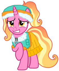 Size: 828x997 | Tagged: safe, artist:徐詩珮, luster dawn, unicorn, series:sprglitemplight diary, series:sprglitemplight life jacket days, series:springshadowdrops diary, series:springshadowdrops life jacket days, alternate universe, clothes, paw patrol, simple background, swimsuit, transparent background, vector