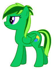 Size: 3000x4000   Tagged: safe, artist:mythilas, oc, oc:vivid hues, pegasus, alternate hairstyle, frown, haircut, simple background, solo, transparent background, unamused, vector