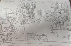 Size: 3353x2178 | Tagged: safe, artist:徐詩珮, fizzlepop berrytwist, glitter drops, spring rain, tempest shadow, twilight sparkle, alicorn, unicorn, series:sprglitemplight diary, series:sprglitemplight life jacket days, series:springshadowdrops diary, series:springshadowdrops life jacket days, alternate universe, bisexual, broken horn, clothes, cute, equestria girls outfit, female, flying, glitterbetes, glitterlight, glittershadow, horn, lesbian, lifeguard, lifeguard spring rain, paw patrol, polyamory, shipping, snorkeling, sprglitemplight, springbetes, springdrops, springlight, springshadow, springshadowdrops, swimsuit, tempestbetes, tempestlight, twilight sparkle (alicorn)