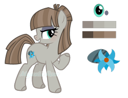 Size: 1696x1296 | Tagged: safe, artist:pink-soul27, oc, oc only, oc:mudbramble, earth pony, pony, female, mare, offspring, parent:maud pie, parent:mud briar, parents:maudbriar, simple background, solo, transparent background
