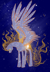 Size: 2346x3340 | Tagged: safe, artist:whitewing1, oc, oc:sun burst, pegasus, pony, high res, male, solo, stallion