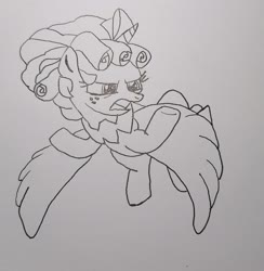 Size: 2512x2572 | Tagged: safe, cozy glow, alicorn, the ending of the end, spoiler:s09e24, spoiler:s09e25, solo, traditional art