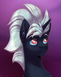 Size: 1280x1609 | Tagged: safe, artist:tigra0118, oc, artwork, bust, looking at something, male], my little pony, portrait, solo