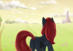 Size: 1280x905 | Tagged: safe, artist:tigra0118, oc, oc:jessi-ka, art trade, background, female, my little pony, solo