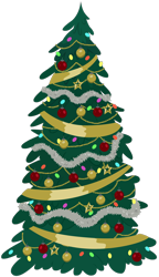 Size: 1280x2228 | Tagged: safe, artist:andoanimalia, christmas, christmas tree, decoration, hearth's warming tree, holiday, no pony, plant, resource, show trace, simple background, tinsel, transparent background, tree, vector
