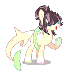 Size: 1464x1594 | Tagged: safe, artist:chococolte, oc, original species, shark, shark pony, base used, female, inner tube, simple background, solo, transparent background