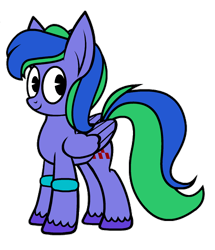 Size: 844x982 | Tagged: safe, artist:tridashie, derpibooru exclusive, edit, oc, oc only, oc:felicity stars, pegasus, pony, 2020 community collab, derpibooru community collaboration, female, looking at you, simple background, solo, transparent background
