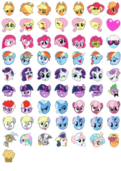 Size: 1000x1414 | Tagged: safe, artist:sollace, apple bloom, applejack, big macintosh, bon bon, cheerilee, cozy glow, derpy hooves, discord, fluttershy, minuette, nurse redheart, photo finish, pinkie pie, princess celestia, rainbow dash, rarity, scootaloo, spike, sweetie drops, trixie, twilight sparkle, twist, zecora, dragon, earth pony, pegasus, pony, unicorn, zebra, a bird in the hoof, applebuck season, boast busters, bridle gossip, call of the cutie, feeling pinkie keen, friendship is magic, green isn't your color, hearts and hooves day (episode), hurricane fluttershy, lesson zero, marks for effort, may the best pet win, one bad apple, over a barrel, party of one, party pooped, season 1, secret of my excess, sonic rainboom (episode), stare master, suited for success, swarm of the century, sweet and elite, the best night ever, the cutie pox, the return of harmony, .svg available, applejack's hat, bedroom eyes, cleanest teeth in equestria, cowboy hat, crying, derp, despair, eeyup, emotions, emotipony, facehoof, facial hair, female, filly, foal, food, gasp, goggles, grin, halo, hat, heart, heart eyes, iwtcird, looking at you, meme, messy mane, moustache, muffin, open mouth, pinkamena diane pie, rage face, raised eyebrow, sad, sick, simple background, smiling, ticket master, tongue out, transparent background, trollestia, vector, want it need it, wavy mouth, wingding eyes, yay