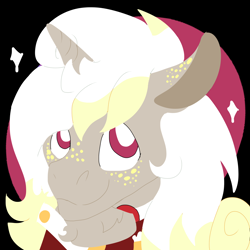 Size: 2000x2000   Tagged: safe, artist:euspuche, oc, oc only, oc:margaret garcia, bust, lineless, looking at you, portrait
