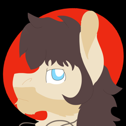 Size: 2000x2000   Tagged: safe, artist:euspuche, oc, oc only, bust, lineless, looking at you, miguel caballero rojo, portrait