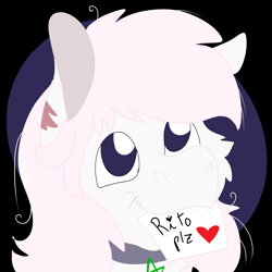 Size: 2000x2000   Tagged: safe, artist:euspuche, oc, oc only, oc:militia, bust, lineless, looking at you, portrait