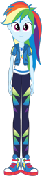 Size: 462x1900 | Tagged: safe, artist:creativeli3, rainbow dash, human, equestria girls, equestria girls series, adobe animate, adobe flash, puppet rig, solo