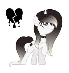 Size: 1021x1069 | Tagged: safe, artist:darbypop1, oc, oc:destiny blood, pony, unicorn, female, mare, simple background, solo, teary eyes, transparent background