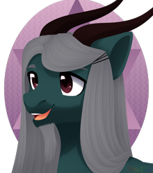 Size: 2200x2500 | Tagged: safe, artist:nika-rain, oc, pony, bust, commission, cute, male, portrait, simple background, smiling, solo