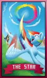 Size: 902x1499   Tagged: safe, artist:pixel-prism, rainbow dash, awesome, fast, flying, rainbow trail, sonic rainboom