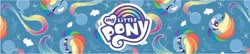 Size: 1858x405 | Tagged: safe, rainbow dash, pegasus, pony, my little pony: pony life, my little pony logo, official, solo