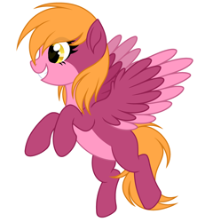 Size: 2712x2936 | Tagged: safe, artist:rioshi, artist:starshade, oc, oc only, pegasus, pony, adoptable, female, mare, simple background, smiling, solo, white background