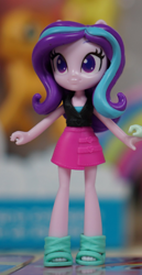 Size: 516x997 | Tagged: safe, starlight glimmer, equestria girls, clothes, figurine, official, photo, skirt, toy