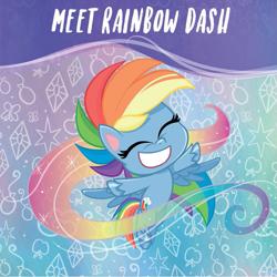 Size: 927x928   Tagged: safe, edit, edited screencap, screencap, rainbow dash, pegasus, pony, my little pony: pony life, backwards cutie mark, solo