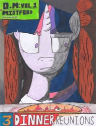 Size: 2514x3272 | Tagged: safe, artist:oatmeal155, twilight sparkle, pony, unicorn, comic:oat.meal, chair, eyeball, food, soup