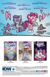 Size: 993x1528 | Tagged: safe, artist:kate sherron, idw, maud pie, pinkie pie, spoiler:comic, spoiler:comic86, preview, younger