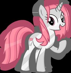Size: 1199x1238 | Tagged: safe, artist:rainbow eevee, object pony, original species, pony, saw pony, unicorn, battle for bfdi, battle for dream island, bfb, bfdi, ponified, raised hoof, saw, saw (bfb), simple background, solo, transparent background