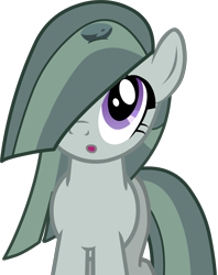 Size: 2396x3032 | Tagged: safe, artist:mrkupkake, boulder (pet), marble pie, earth pony, pony, :o, cute, female, high res, marblebetes, mare, open mouth, simple background, solo, transparent background, vector