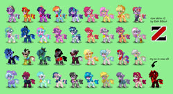 Size: 1650x900 | Tagged: safe, artist:zethbsoul, apple bloom, applejack, bon bon, cherry jubilee, cozy glow, daybreaker, derpy hooves, discord, dj pon-3, fluttershy, kerfuffle, king sombra, lord tirek, lyra heartstrings, maud pie, mayor mare, moondancer, nightmare moon, octavia melody, pinkie pie, princess cadance, princess celestia, princess flurry heart, princess luna, queen chrysalis, rainbow dash, rarity, scootaloo, shining armor, starlight glimmer, sunset shimmer, sweetie belle, sweetie drops, tempest shadow, trixie, twilight sparkle, vinyl scratch, oc, oc:zeth b. soul, cow, pony town, adorabon, applecow, applejack's hat, bell, cherry moobilee, clothes, cow bon, cowbell, cowbelle, cowbloom, cowboy hat, cowfuffle, cowified, cowra, cowtavia, cozy cow, cozybetes, cute, cutealis, cutedance, dancerbetes, derpy moo, diabreaker, discow, discute, flurrybetes, fluttercow, fufflebetes, green background, hat, king moobra, lord tirecow, lyrabetes, maudabetes, mayor moo, mayorable, moobreaker, mood pie, moodancer, moonabetes, nightmare moo, painset shimmercakes, pincow pie, princess cowdance, princess cowlestia, princess moona, queen cowsalis, rainbovine dash, raricow, scootamoo, shining adorable, shining armoo, simple background, sombradorable, species swap, starlight glimmoo, sunset shimmoo, tavibetes, tempest shacow, tempestbetes, tirebetes, trixie lulamoo, trixie's hat, twilight sparcow, twilight sparkle (alicorn), vinyl cow, vinylbetes, wall of tags