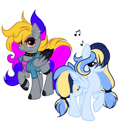 Size: 2500x2500   Tagged: safe, artist:takan0, oc, oc only, pegasus, pony, choker, clothes, female, jacket, mare, shirt, simple background, transparent background