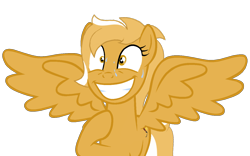 Size: 1350x842 | Tagged: safe, artist:indonesiarailroadpht, oc, oc only, oc:mareota, pegasus, pony, confused, simple background, transparent background
