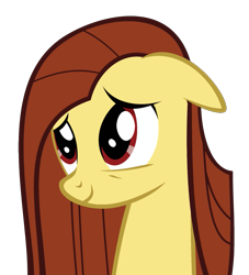 Size: 1075x1183 | Tagged: safe, artist:theironheart, oc, oc only, oc:iron heart, earth pony, pony, bust, earth pony oc, recolor, simple background, smiling, solo, transparent background