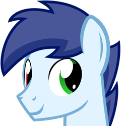Size: 713x713 | Tagged: safe, artist:the smiling pony, oc, oc only, oc:slipstream, pony, .svg available, heterochromia, simple background, smiling, solo, svg, transparent background, vector